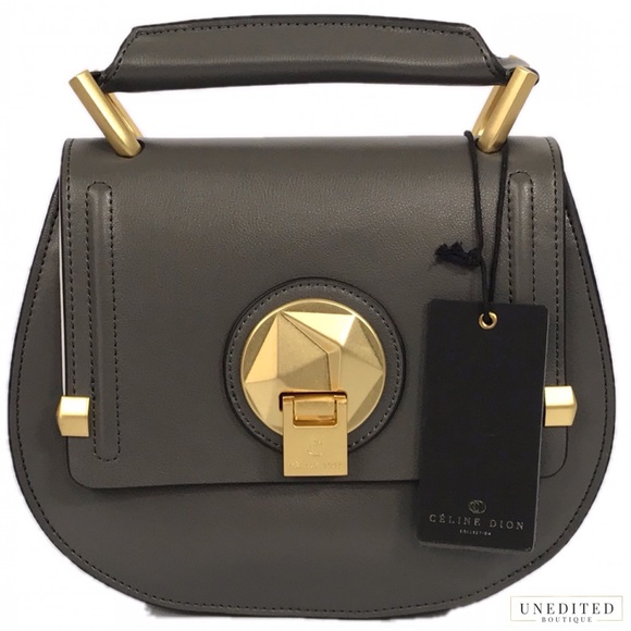 a406a0d724 NWT - Celine Dion Octave Satchel With Strap
